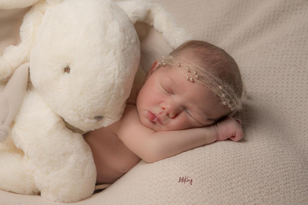 Photo professionnelle avec bébé sur saint laurent du var